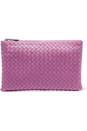 Bottega Veneta Medium intrecciato leather pouch