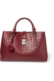 Bottega Veneta Roma medium intrecciato leather tote