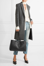 Bottega Veneta Shopper intrecciato leather tote