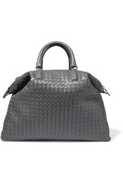 Bottega Veneta Convertible medium intrecciato leather tote