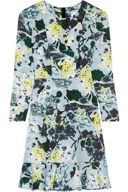 Judy floral-print tech-jersey mini dress