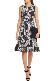 Erdem Jana floral-print stretch-crepe dress