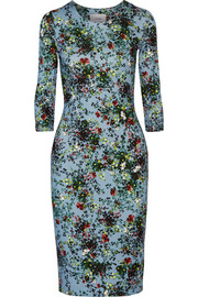 Allegra floral-print stretch-jersey dress