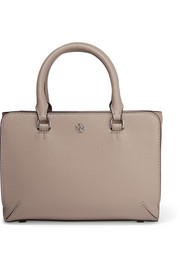 Tory Burch Robinson micro textured-leather tote