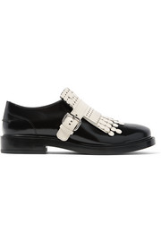 Tod's Fringed leather brogues