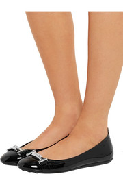 Tod's Patent-leather ballet flats