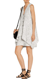 Maiyet Printed silk crepe de chine mini dress