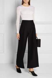 Maiyet Open-knit cashmere and silk-blend sweater