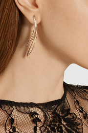 Oscar de la Renta Gold-plated earrings