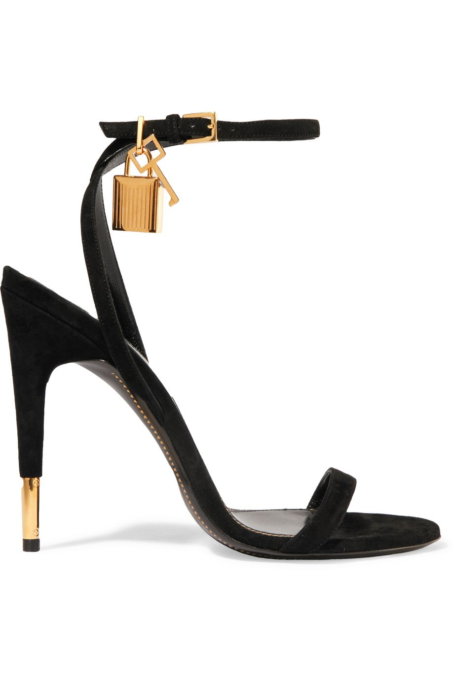 Suede sandals by TOM FORD for $356 Kim Kardashian Shoes Exact Product