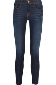 Le Skinny de Jeanne cropped mid-rise jeans