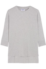 Le Boxy cotton, silk and cashmere-blend sweater