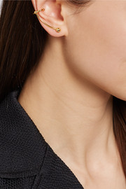 Maria Black Helix gold-plated silver ear cuff