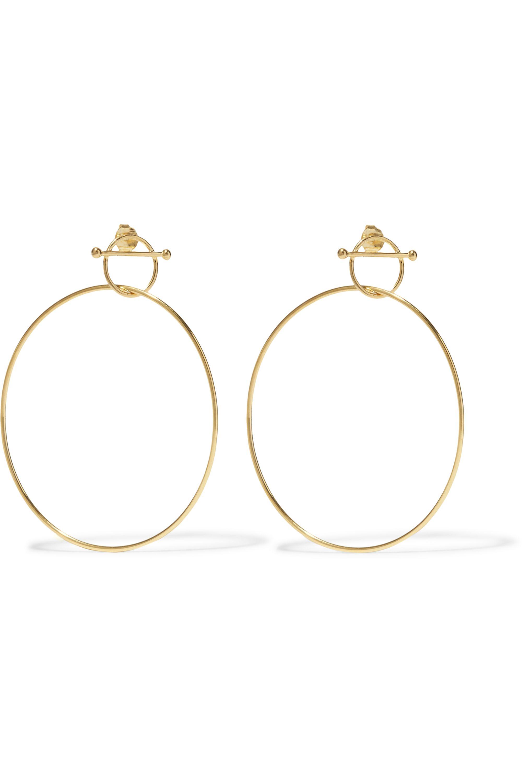 Maria Black Swing gold-plated earrings