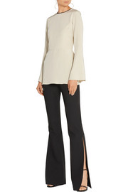 Haney Sienna silk-blend crepe top