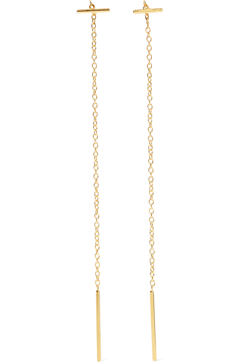 Chan Luu Gold-Plated Earrings, Women's