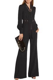 Lindley studded crepe jumpsuit
