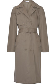 Tomas Maier Wool-gabardine trench coat