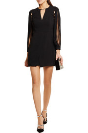 Halston Heritage Crepe mini dress