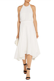 Halston Heritage Stretch-crepe midi dress