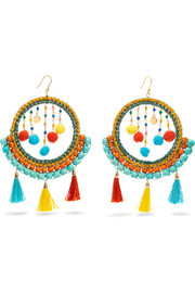 Merida embellished earrings
