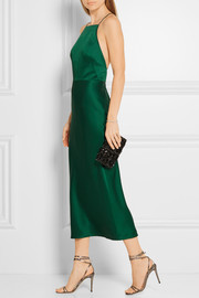 Jason Wu Crepe de chine midi dress