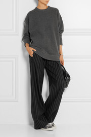 Jason Wu Oversized textured stretch-knit sweater