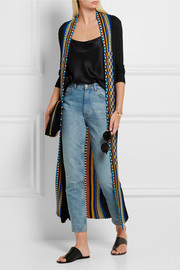 Missoni Striped ribbed wool-blend cardigan