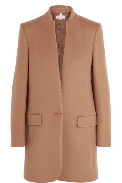 Stella McCartney - Bryce Wool-blend Coat - Camel