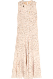 Stella McCartney Zip-detailed lace gown