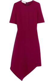Stella McCartney Asymmetric stretch-crepe dress