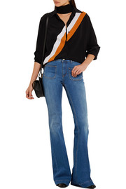 Stella McCartney High-rise flared jeans