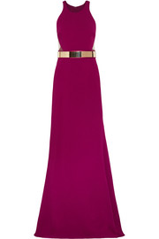Stella McCartney Seskia cutout stretch-cady gown