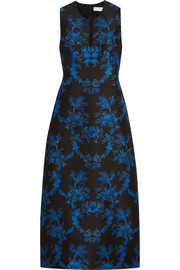 Stella McCartney Angelica crystal-embellished floral-jacquard gown