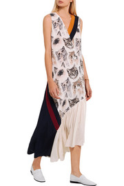 Stella McCartney Printed silk dress