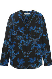 Stella McCartney Estelle floral-print silk crepe de chine blouse