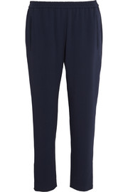 Tamara cropped stretch-crepe tapered pants