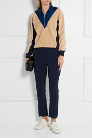 Stella McCartney Tamara cropped stretch-crepe tapered pants