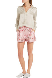 Stella McCartney Floral-jacquard shorts
