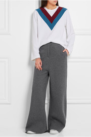 Stella McCartney Striped stretch-cady blouse