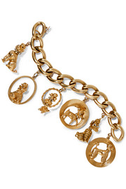 Fred Leighton 20th Century 14-karat gold multi-stone bracelet