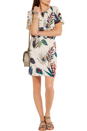 Anatolia printed silk-georgette dress