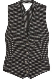 Temperley London Phoenix jacquard vest