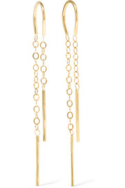 Melissa Joy Manning 14-karat gold earrings