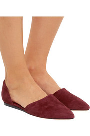 Vince Nina suede point-toe flats