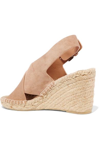 d526560c79 Vince | Sabrina suede espadrille wedge sandals | NET-A-PORTER.COM