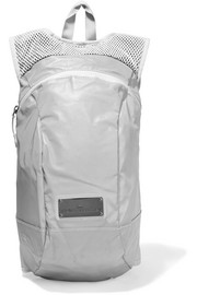 Adidas by Stella McCartney Reflective shell and mesh backpack