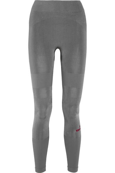 adidas by stella mccartney female 46361 adidas by stella mccartney yoga stretchjersey leggings anthracite