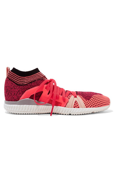 ffeb13cd2 adidas by Stella McCartney. Crazy Move Bounce mesh sneakers