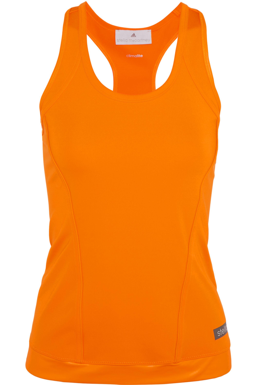 adidas by Stella McCartney The Performance racer-back stretch-jersey tank